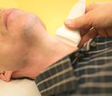 Ultraschall der Halsarterien
